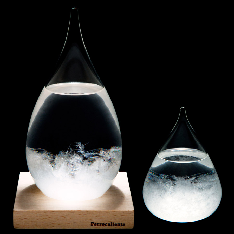 tempo-drop-sculptural-weather-forecasting-storm-glass-1 Do You Believe That You Can Predict Weather From Your Home?
