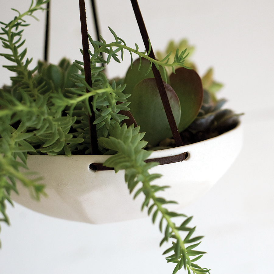the-small-garden-faceted-planter-1 How To Make Plants A Part Of Your Home Decoration?