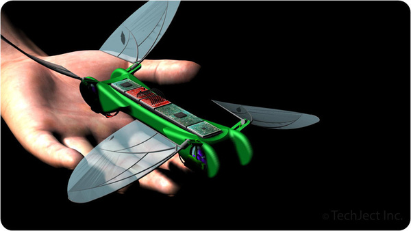 tiny Robotic Dragonflies That Will Dazzle You