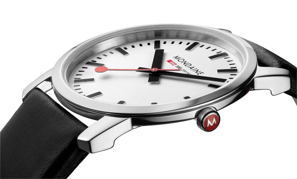 ultra-thin-Mondaine-white3 The World's 15 Thinnest Watches