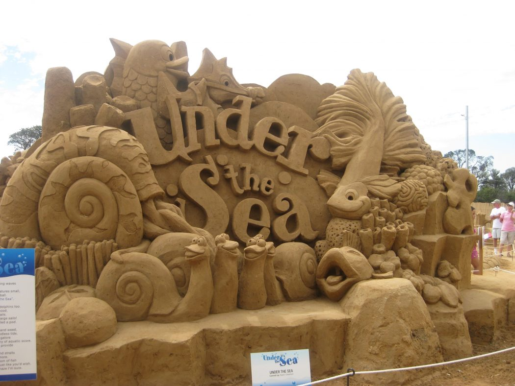 under-the-sea The Best 10 Videos and 30 images for Sand Art