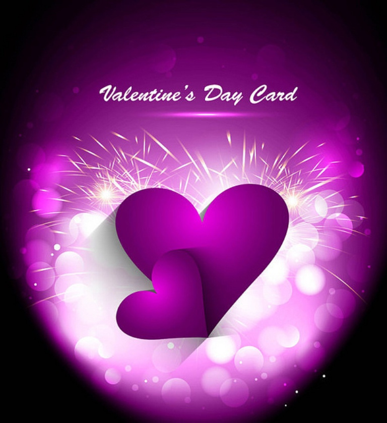 valentine 12 Nice Greeting Cards for Facebook