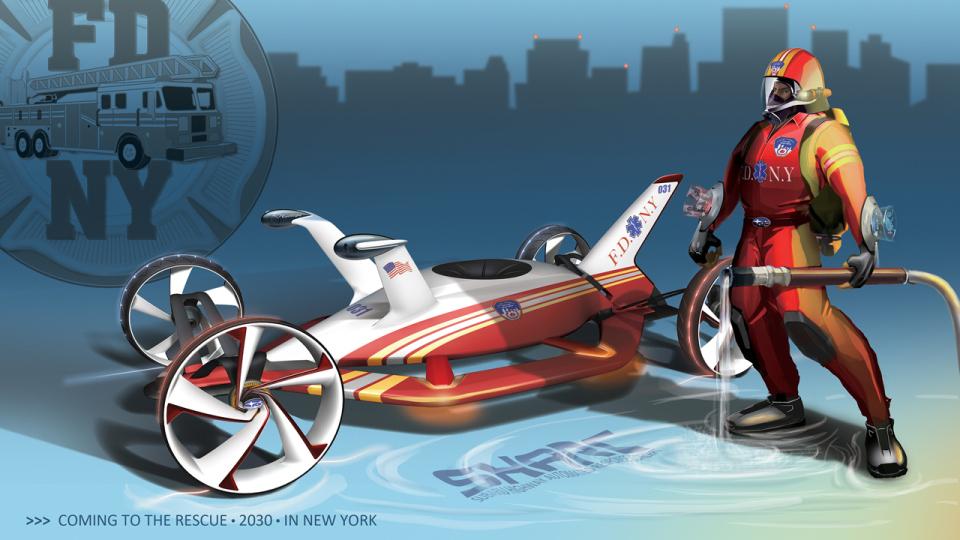 003-subaru-sharc 15 Futuristic Emergency Auto Design Ideas