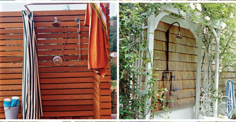 Photo of Outdoor Showers Can Make You Feel Cool In The Hot Summer