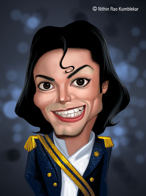 1-michael-jackson-caricature Do You Know How To Draw Caricatures?