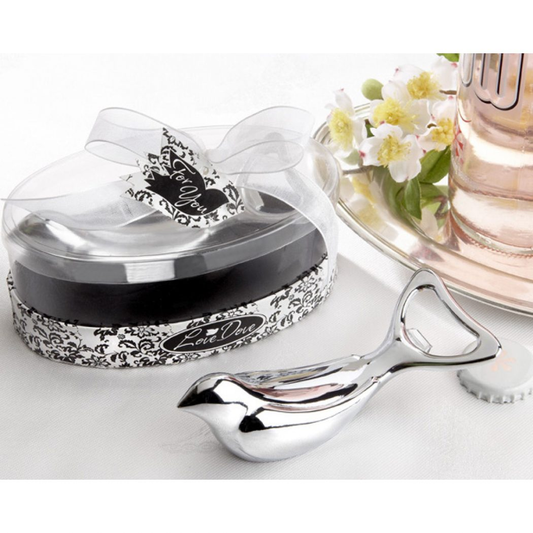 11035na_love_birds_bottle_opener 20 unique wedding giveaways ideas