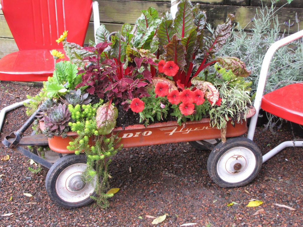 139 10 Fascinating and Unique Ideas for Portable Gardens