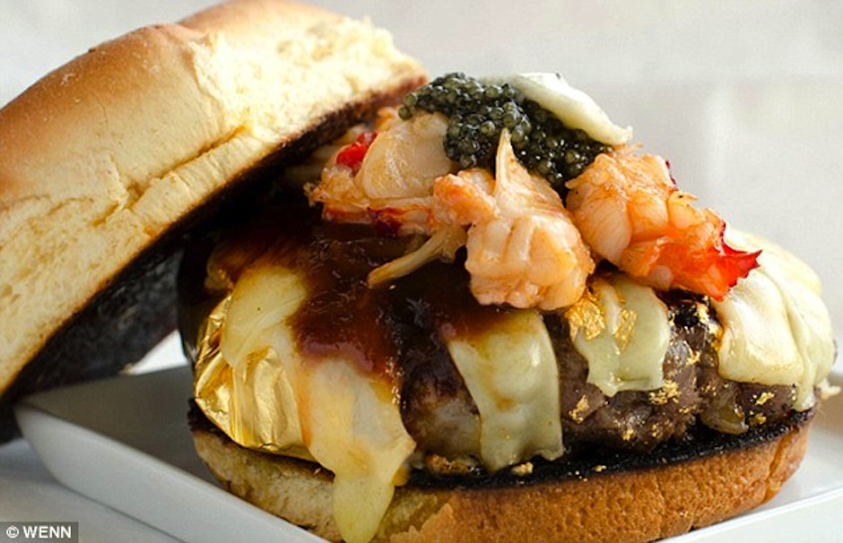 1Douche-burger TOP 10 Most Expensive Sandwiches in The World