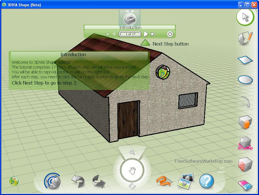 3dvia-shape Top 15 3D Design Software
