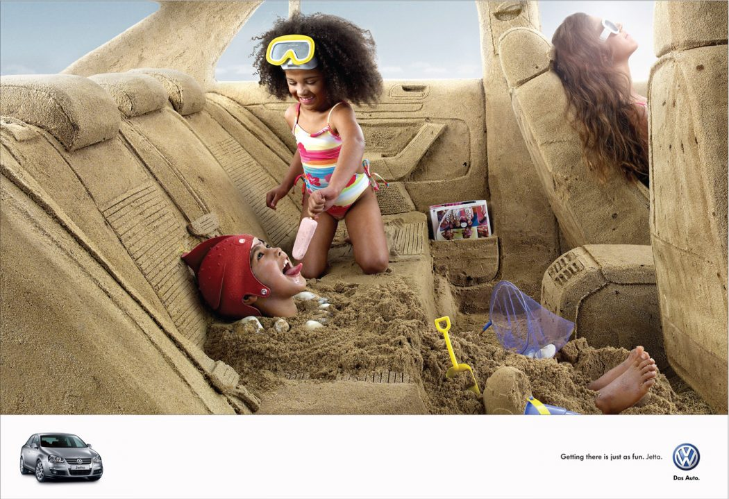 A-trip-to-the-beach 40 Most Creative and Dazzling Auto Ads