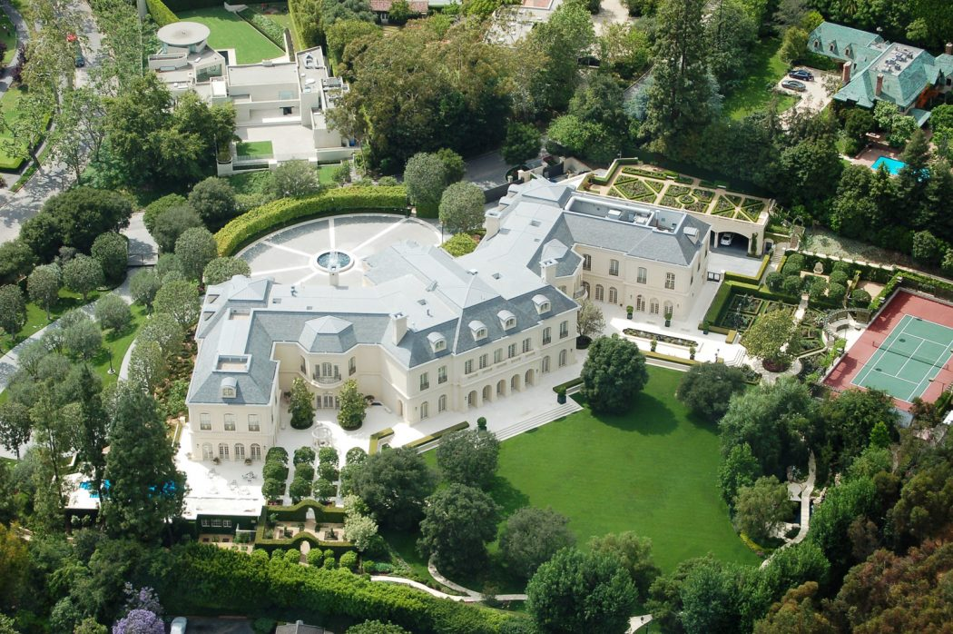 Aaron-Spelling-Manor Top 15 Most Expensive Celebrity Homes