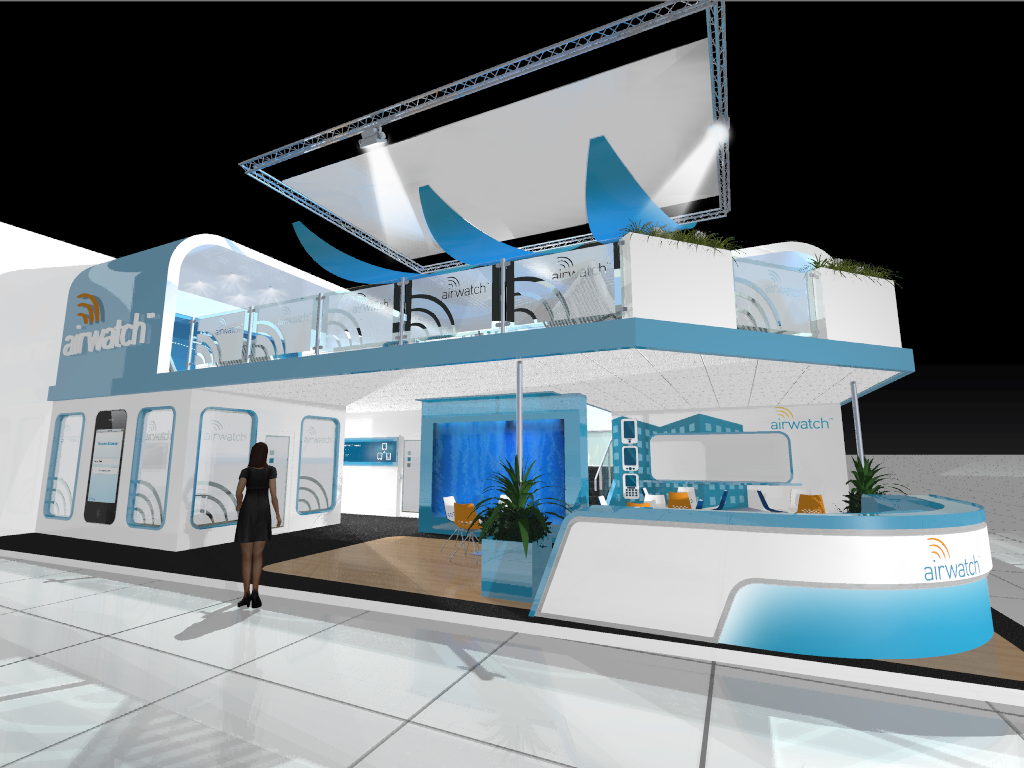 AirwatchDesign Visual Marketing and Business Promotion Through Exhibition Designs