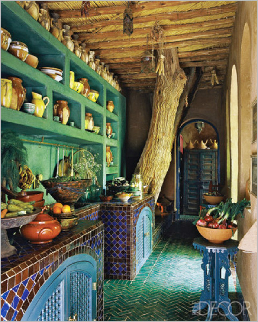Amazing-Kitchen-Design-Ideas-Moroccan-kitchen-style Top 25 Futuristic Kitchen Designs