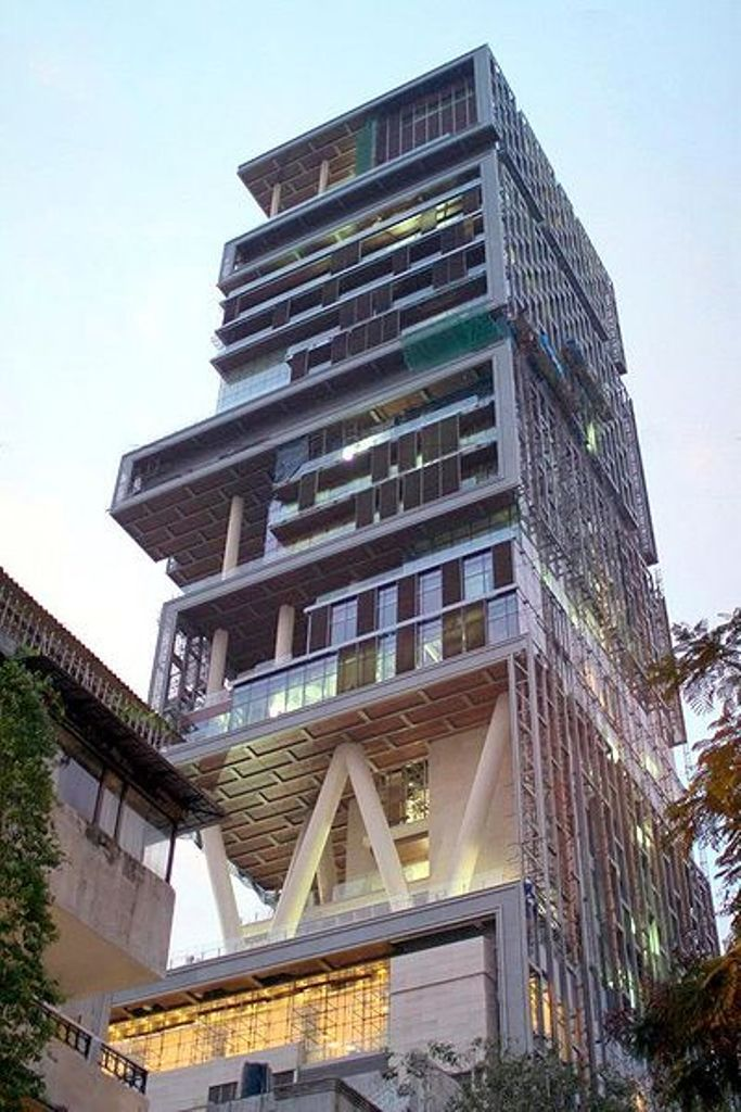 Antilla-Mumbai Top 10 Most Expensive Houses in The World