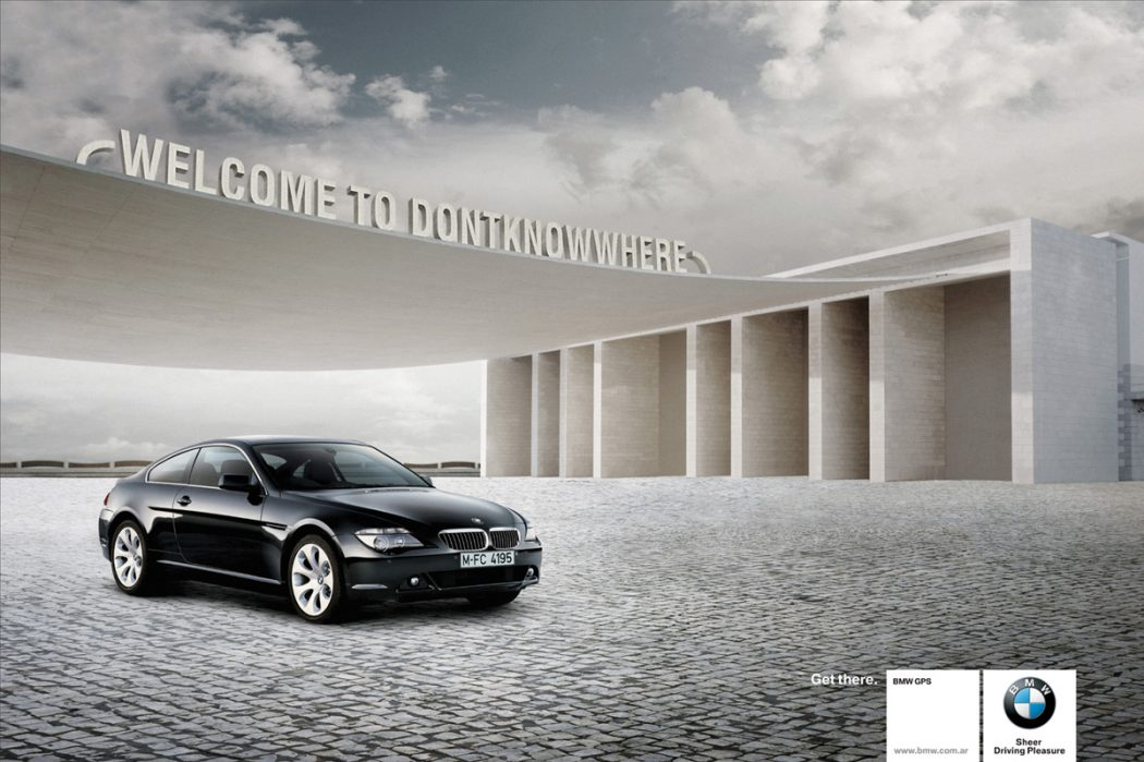 BMWwelcome 40 Most Creative and Dazzling Auto Ads