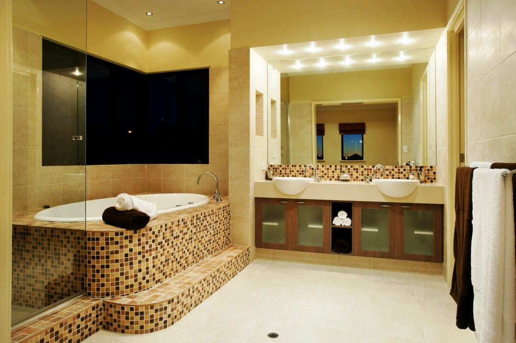 Top 10 stylish bathroom design ideas for Model homes decorating ideas