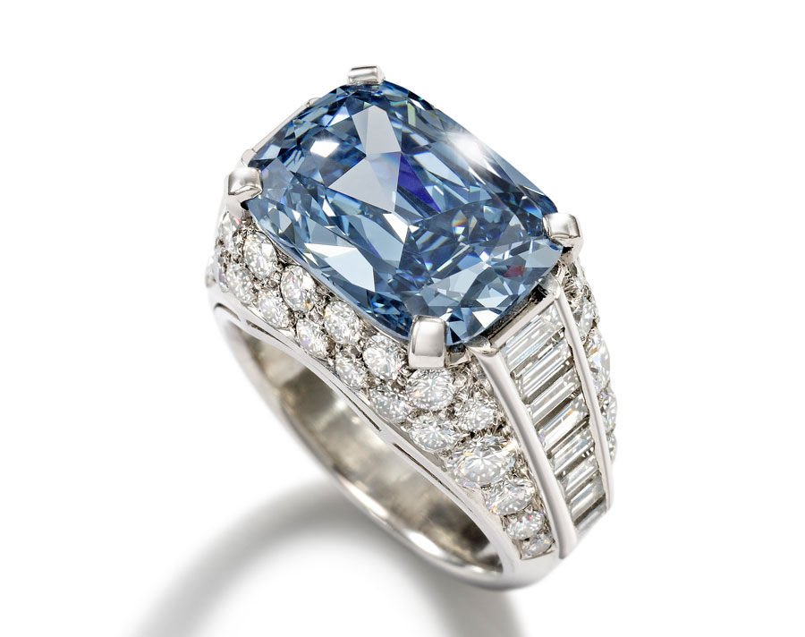 Blue-Diamond-Bonhams-2 What Do You Say about These Rare and Precious Rings?!