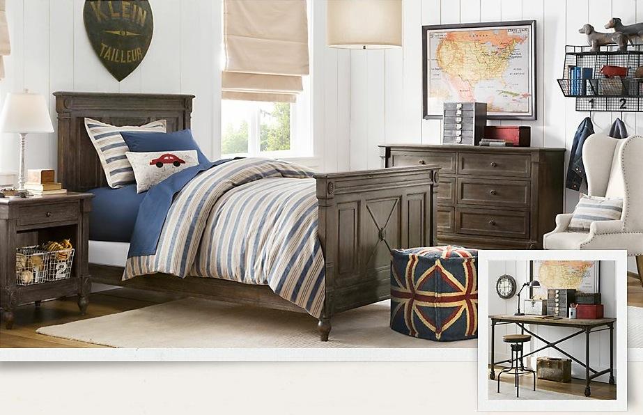 Blue-cream-classic-boys-room Most Popular Badcock Furniture