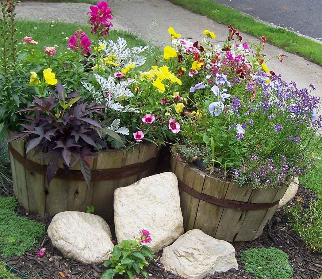 Buckets 10 Fascinating and Unique Ideas for Portable Gardens