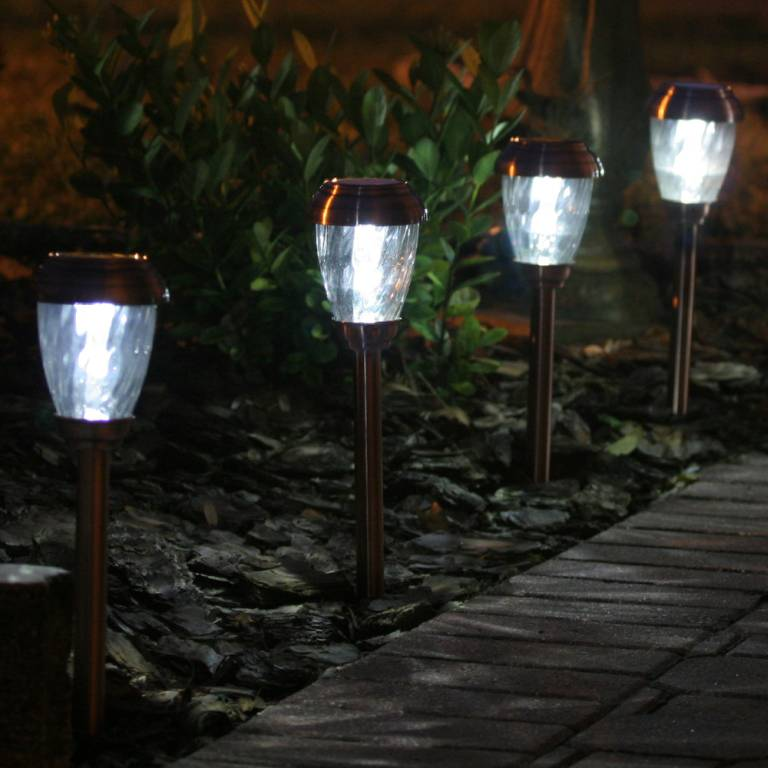 Charleston-Solar-Lights-Copper LEDs 10 uses in Architecture