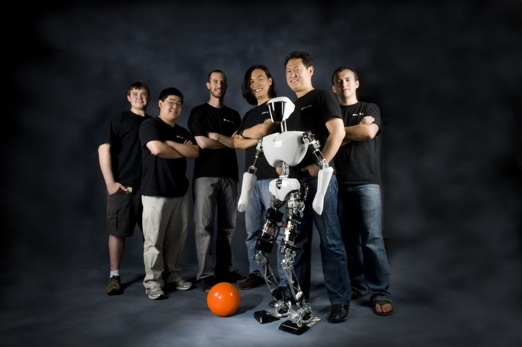 Charli_with_team Are you stressed? Watch these Robots Dancing Gangnam Style