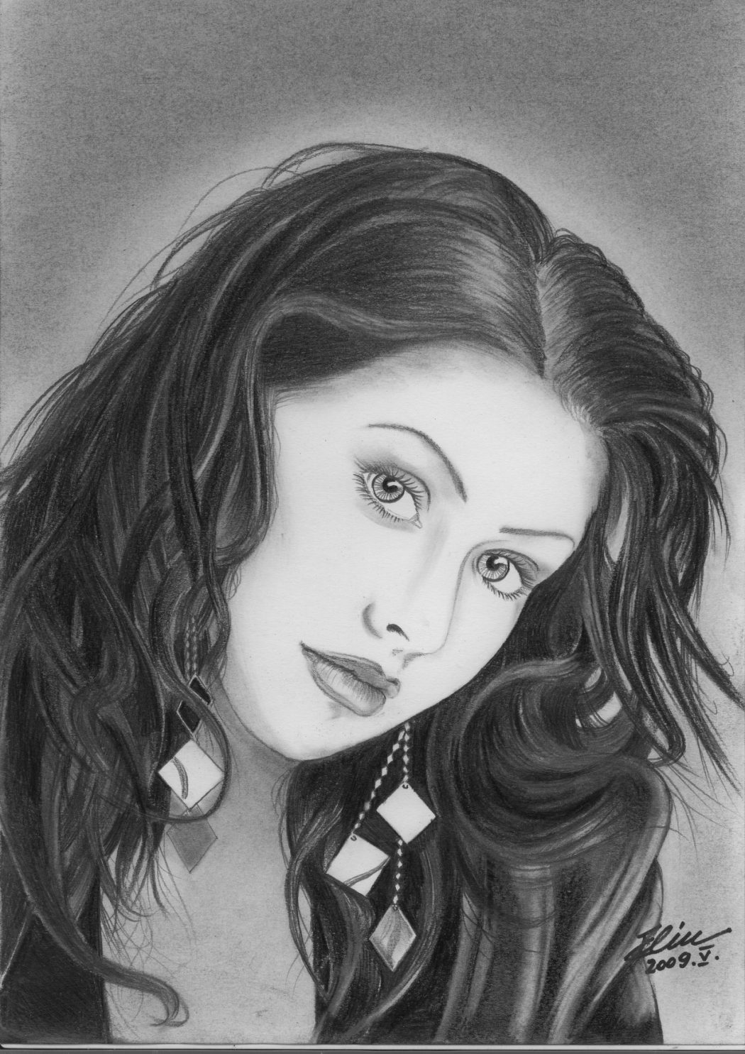 ChristinaAguilera_2.2 Stunningly And Incredibly Realistic Pencil Portraits