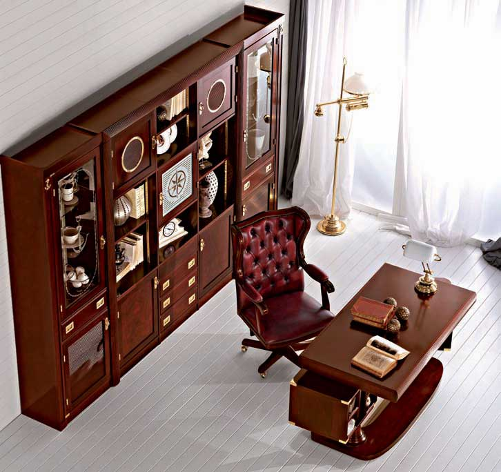 classic home office decor with luxury furniture pouted