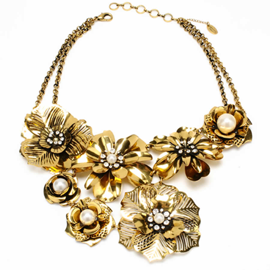 Classic-and-Elegant-Clement-Necklace-Design-for-Women-Fashion-Accessories-by-Amrita-Singh What Are The Latest Celebrity Accessories Trends in 2017?