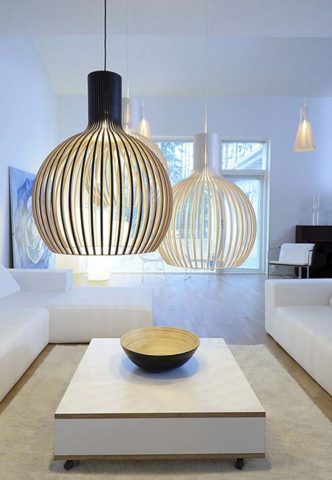 Contemporary pendant lights ideas for Modern residential lighting