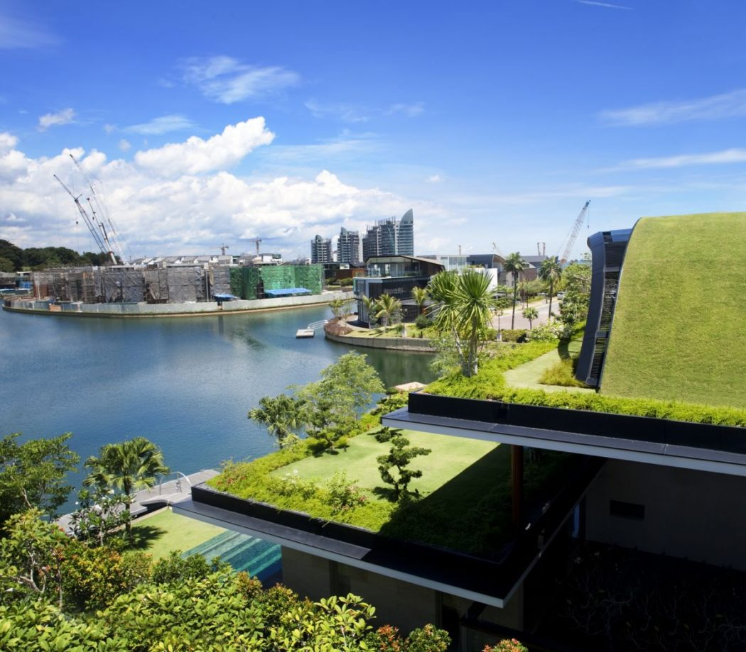 Contemporary-house-design-ideas-with-roof-garden-meera-ocean-view Decorating The Roof To Look Like A Paradise