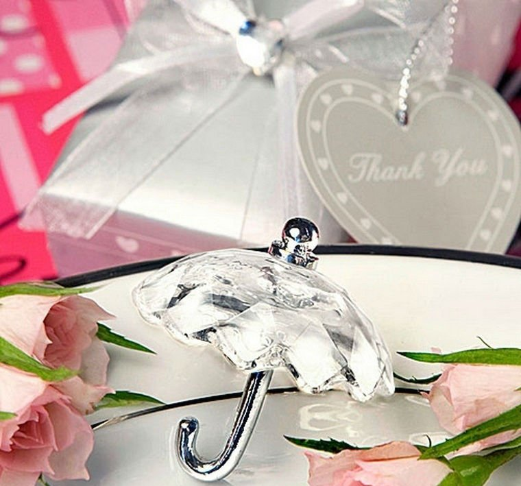 Crystal-Effect-Umbrella-Favors-50pcs-lot-Wedding-Favor-Wedding-Gift-Wedding-Souvenir 20 unique wedding giveaways ideas