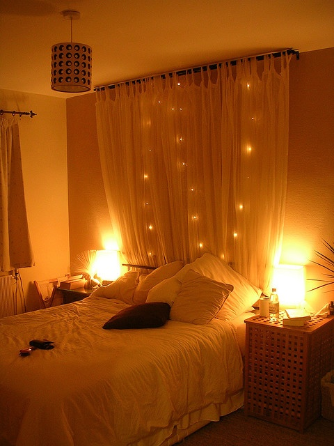 DIY-Home-Improvement-Romantic-Bedroom-Design Get Your Home Looks Romantic By The Mood Of Lighting