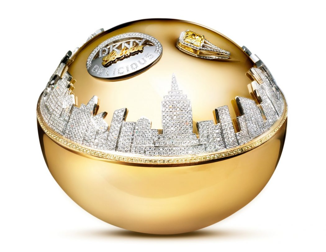 DKNY Golden Delicious Perfume 10 Most Expensive Perfumes for Women in The World 2013