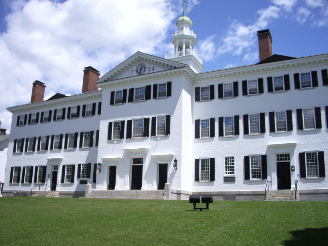 Dartmouth_College_campus__Hall_02 TOP 10 Most Expensive Colleges in The World