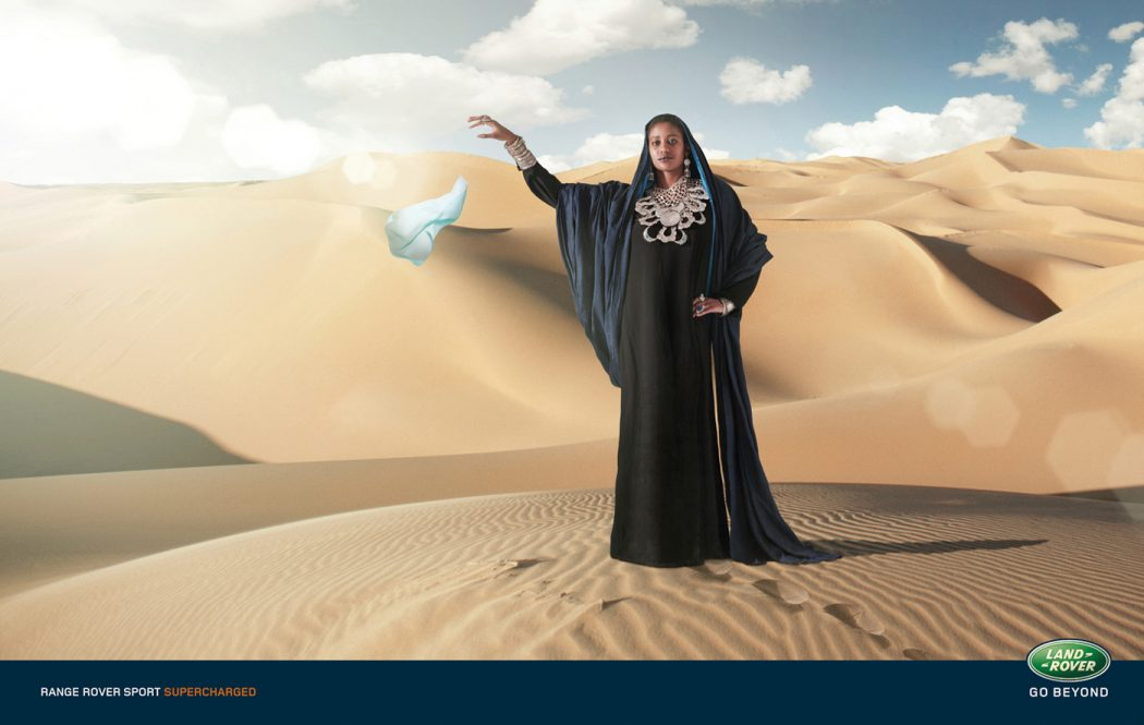 Desert 40 Most Creative and Dazzling Auto Ads