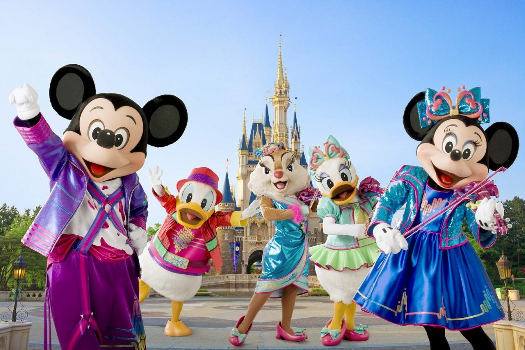 Disneyland-Tokyo-Cartoon-Characters Top 10 Most Expensive Things on Earth