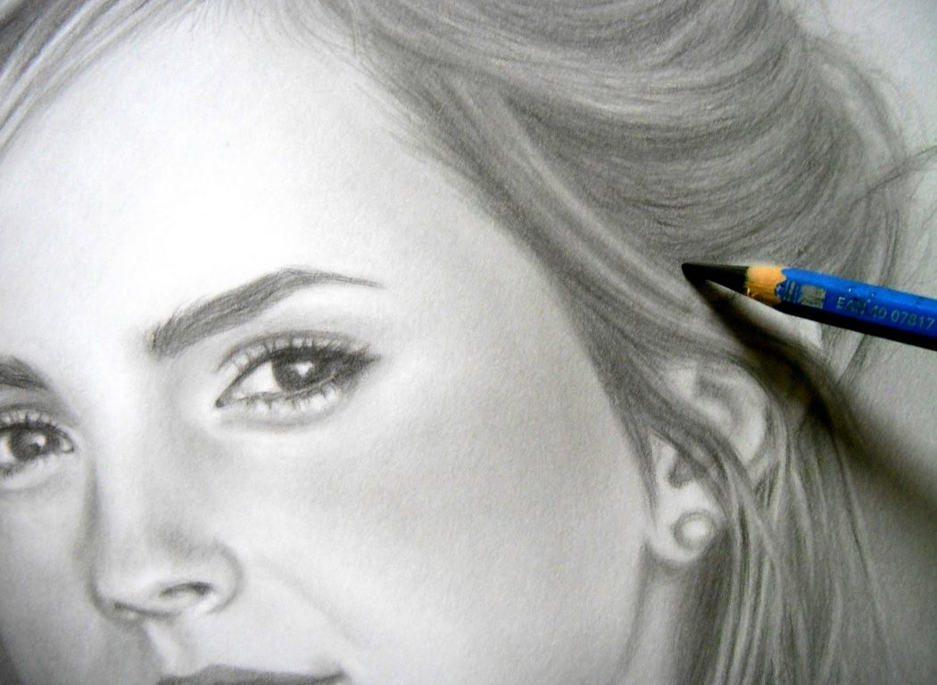 EW-. Stunningly And Incredibly Realistic Pencil Portraits