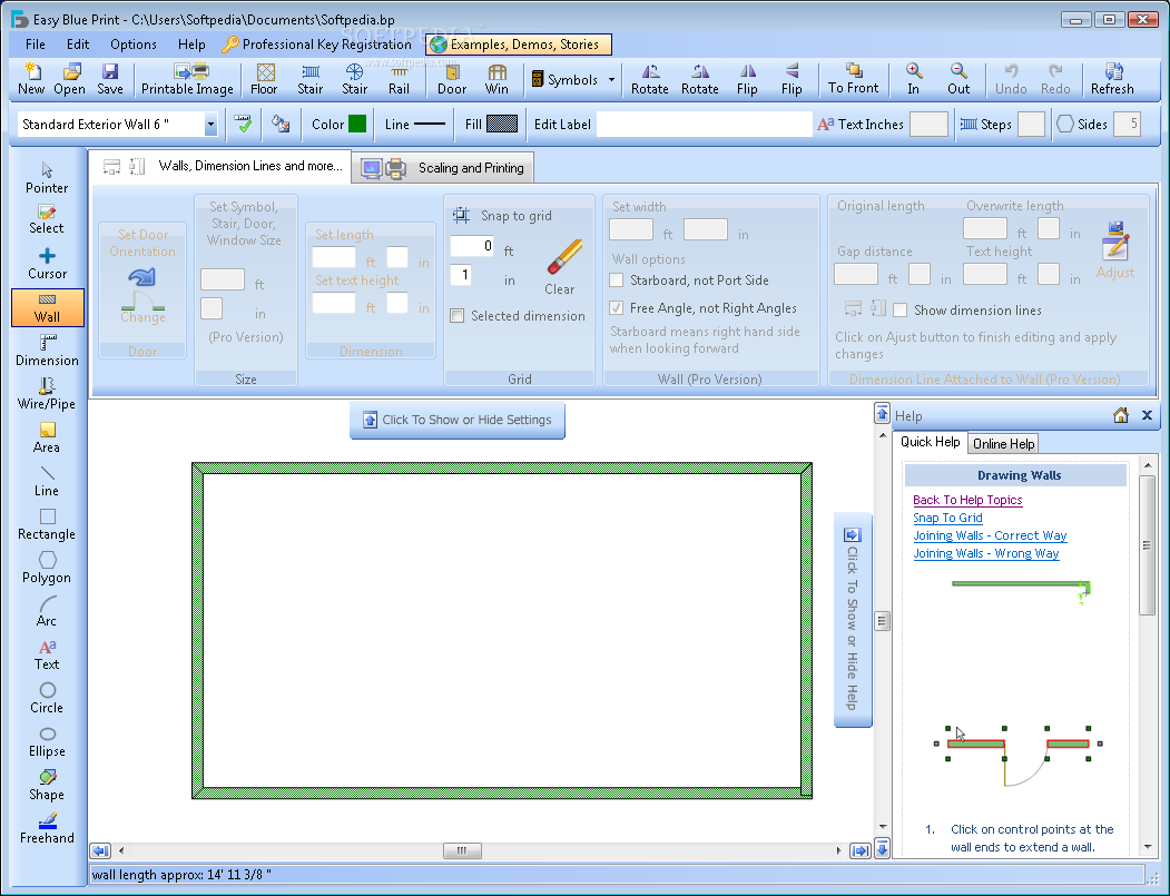 Easy-Blue-Print_1 Top 15 Virtual Room software tools and Programs