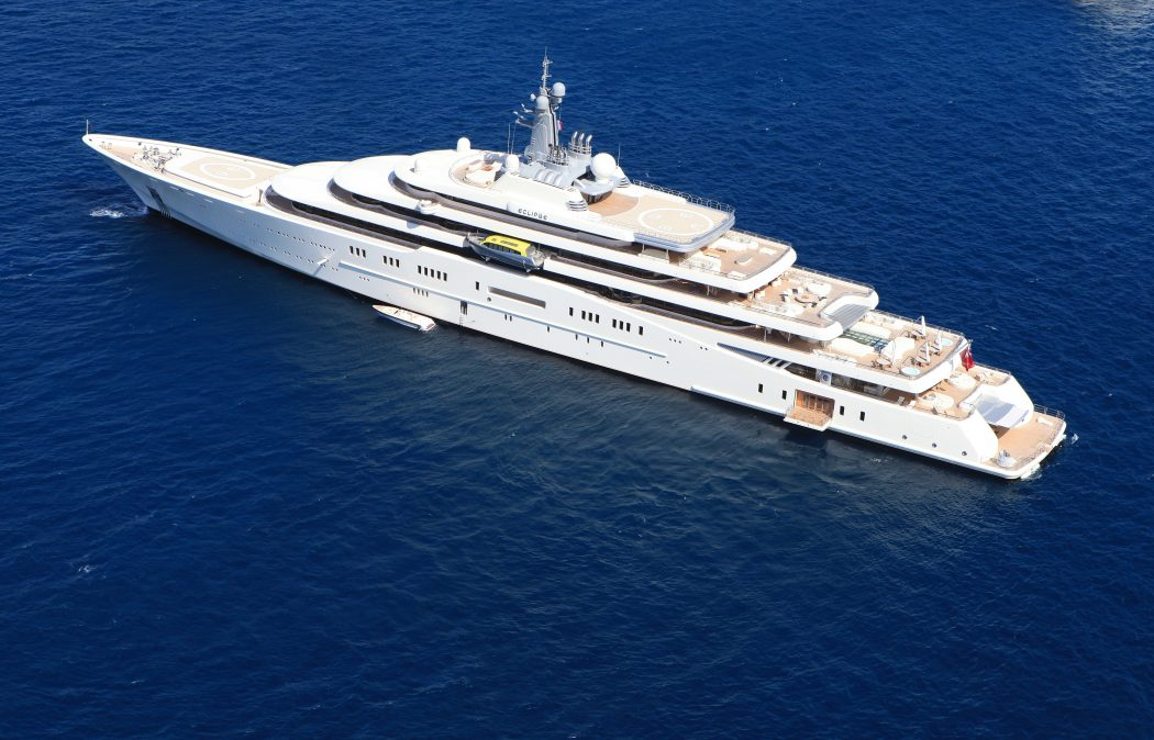 Eclipse 15 Most luxurious Yachts in The World