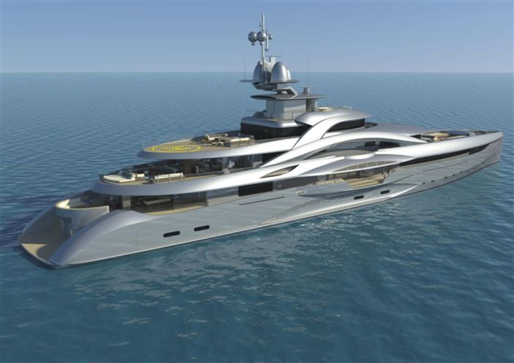 Fincantieri-Project-Mars 15 Most luxurious Yachts in The World
