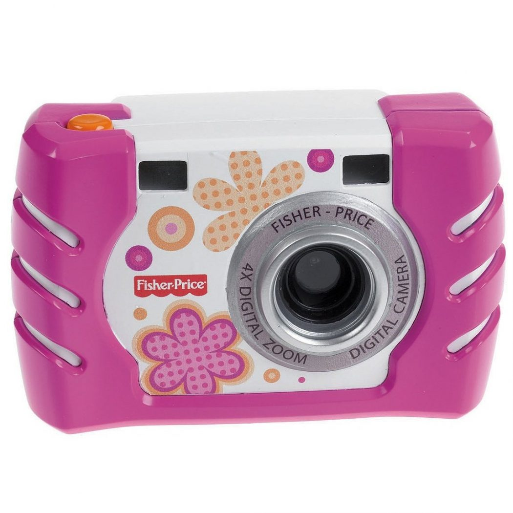 Fisher-Price-Kid-Tough-Digital-Camera-Pink 15 Creative giveaways ideas for kids
