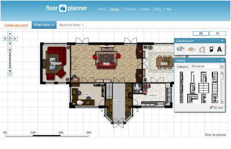 Floorplanner_floor-plan1 Top 15 Virtual Room software tools and Programs