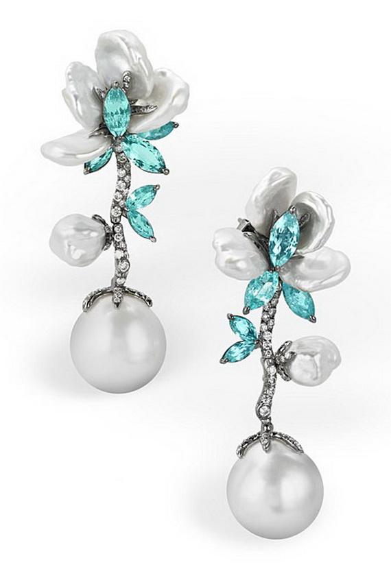 Floral-Inspired-Wedding-Jewelry_01 Best 30 Inspiring Jewelry Designs