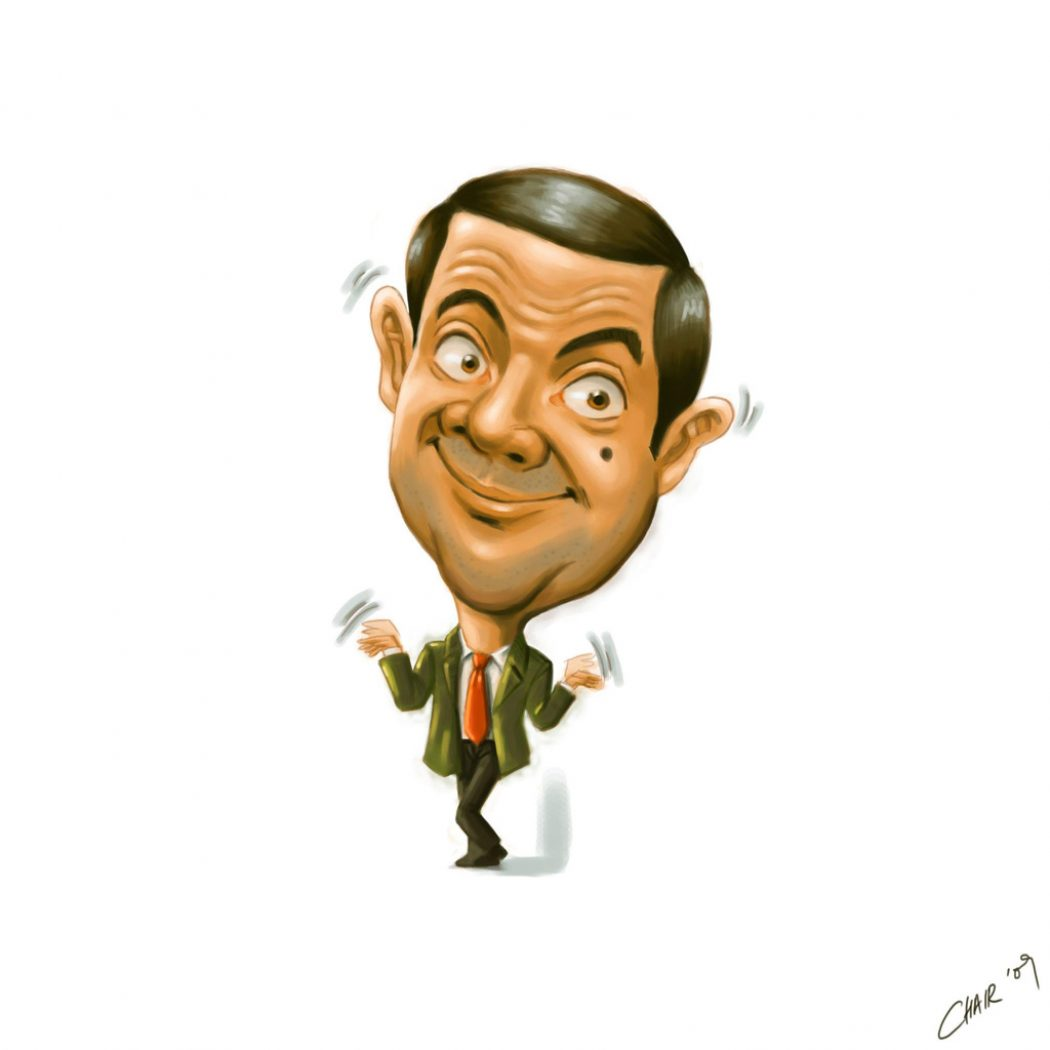 Funny_Mr_Bean_Caricature Do You Know How To Draw Caricatures?