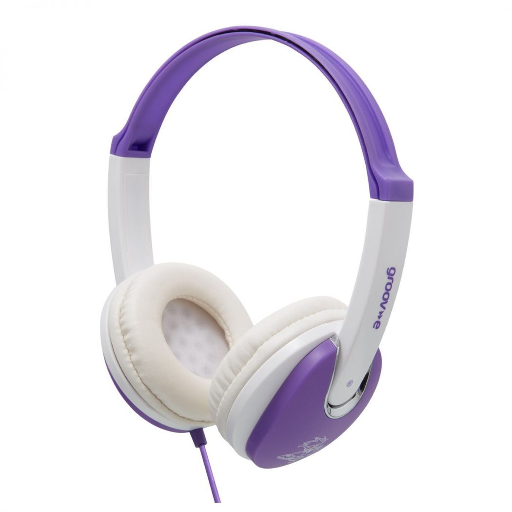 Groov-e-GV590VW-Kids-DJ-Style-Headphone-VioletWhite 15 Creative giveaways ideas for kids