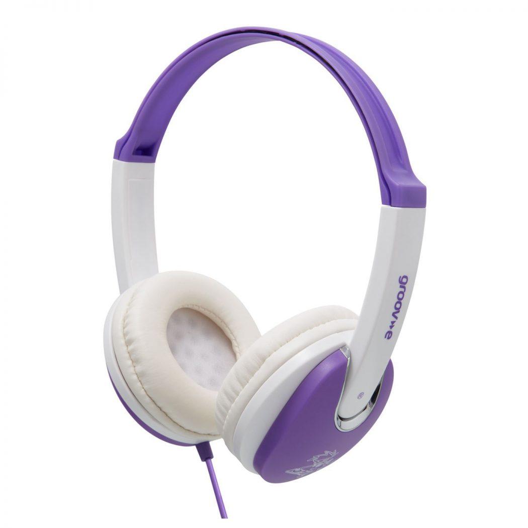 Groov-e-GV590VW-Kids-DJ-Style-Headphone-VioletWhite 15 Creative giveaways ideas for kids