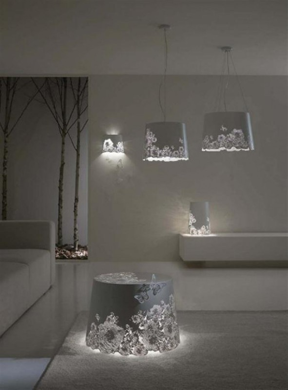 Hanging-and-wall-Romantic-Lamp Get Your Home Looks Romantic By The Mood Of Lighting