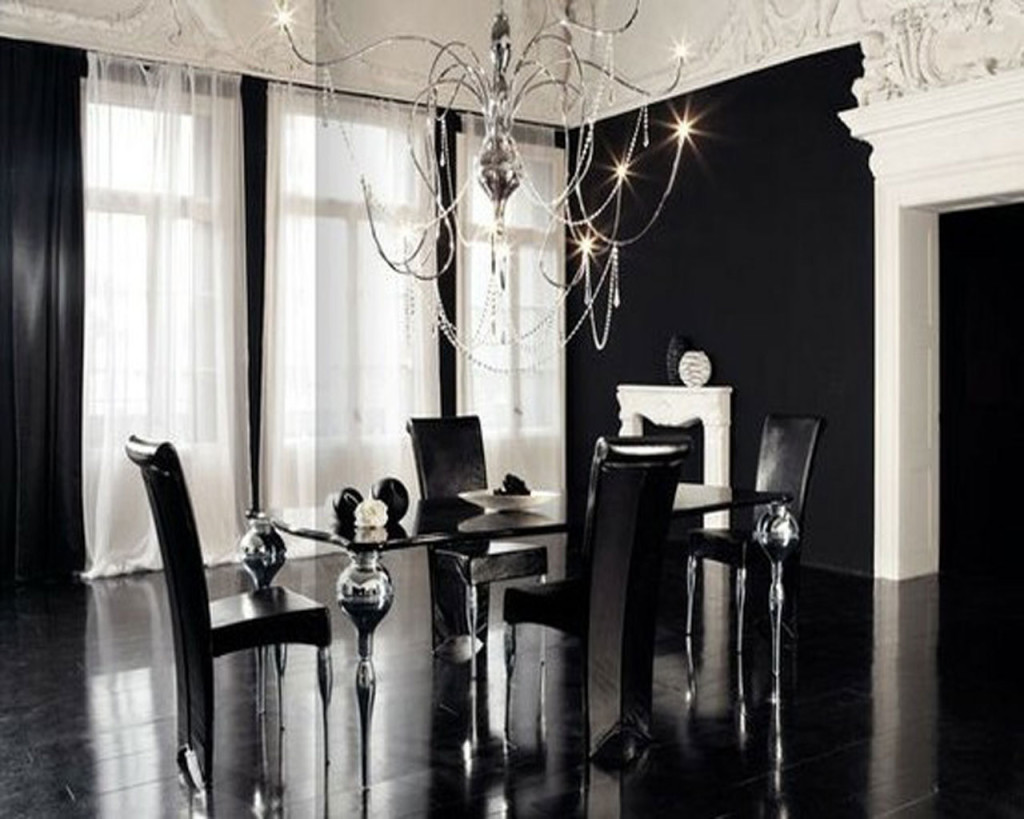 Ideas-Design-Black-and-White-Dining-Areas-1024x819 25 Elegant Black And White Dining Room Designs