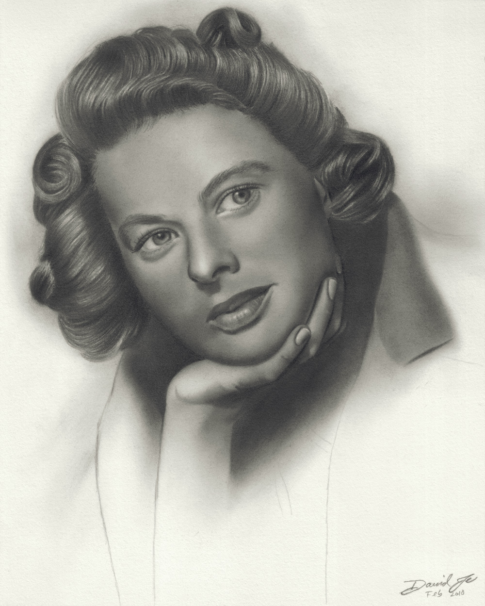 Ingrid-Bergman-May-09-2010-Final-1200dpi-Ready-for-Web Stunningly And Incredibly Realistic Pencil Portraits