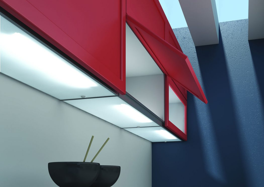 Innovative-kitchen-with-LED-lighting LEDs 10 uses in Architecture